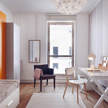 Фотография: Спальня в стиле Скандинавский, Декор интерьера, Квартира, Дома и квартиры, Польша – фото на InMyRoom.ru