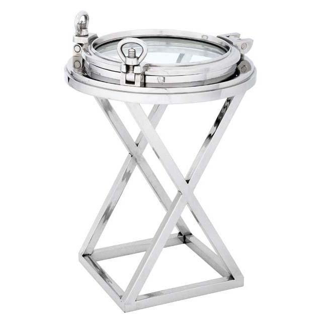 Купить Приставной столик Porthole Hms Endurance из металла и стекла, inmyroom, Нидерланды