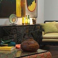 Фотография: Гостиная в стиле Кантри, Современный, Восточный, Декор интерьера, Декор дома, Цвет в интерьере – фото на InMyRoom.ru