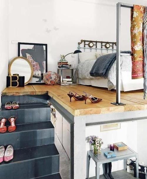 Фотография: Спальня в стиле Лофт, Советы, уборка – фото на InMyRoom.ru