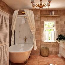 Фотография: Ванная в стиле Кантри, Классический, Современный, Кухня и столовая, Дом, Дома и квартиры – фото на InMyRoom.ru