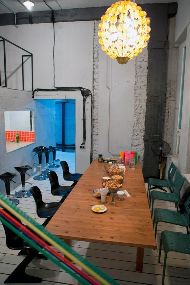 Фотография: Кухня и столовая в стиле Лофт, Декор интерьера, Освещение, Дизайн интерьера, Цвет в интерьере, Ольга Евдокимова – фото на InMyRoom.ru