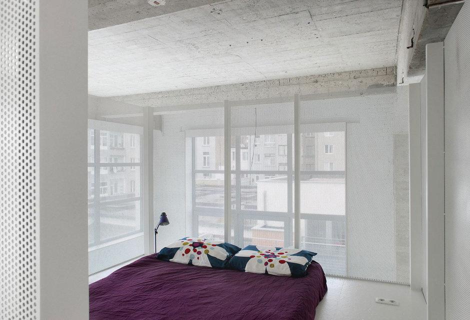 Фотография: Спальня в стиле Современный, Квартира, Цвет в интерьере, Дома и квартиры, Белый, Проект недели – фото на InMyRoom.ru