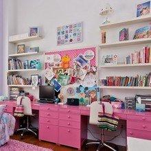 Фотография: Детская в стиле Современный, Лофт, Декор интерьера, Квартира, Дома и квартиры, Большие окна – фото на InMyRoom.ru