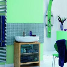 Фотография: Ванная в стиле Современный, Декор интерьера, Дизайн интерьера, Цвет в интерьере, Dulux – фото на InMyRoom.ru