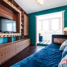 Фотография: Гостиная в стиле Классический, Современный, Эклектика – фото на InMyRoom.ru