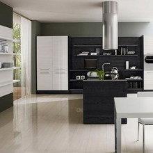 Фотография: Кухня и столовая в стиле Современный, Классический, Интерьер комнат, Мебель и свет – фото на InMyRoom.ru