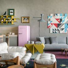 Фото из портфолио Графические фигуры, цвета и узоры в изобилии в интерьере бразильского дизайнера Паула Недер – фотографии дизайна интерьеров на InMyRoom.ru