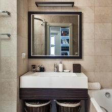 Фотография: Ванная в стиле Современный, Квартира, Hudson Valley, Vistosi, Дома и квартиры, Проект недели, Porada – фото на InMyRoom.ru