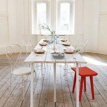 Фотография: Кухня и столовая в стиле Кантри, Скандинавский, Декор интерьера, Декор дома, Пол – фото на InMyRoom.ru
