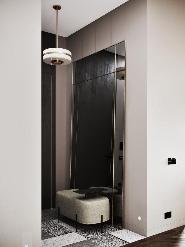 Фото из портфолио Двухэтажные апартаменты с террасой в центре старой Москвы – фотографии дизайна интерьеров на INMYROOM