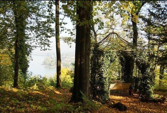 Фотография: Гостиная в стиле Минимализм, Дом, Германия, Дома и квартиры, Замок – фото на InMyRoom.ru