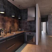 Фото из портфолио коричневый+кофе – фотографии дизайна интерьеров на InMyRoom.ru