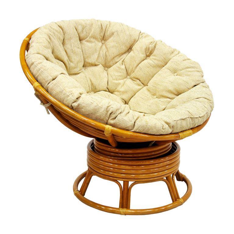 Кресло механическое Papasan из ротанга