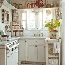 Фотография: Кухня и столовая в стиле Кантри, Декор интерьера, Квартира, Дом, Стиль жизни, Советы – фото на InMyRoom.ru