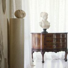 Фотография: Декор в стиле Кантри, Кухня и столовая, Гостиная, Спальня, Классический, Квартира, Испания, Цвет в интерьере, Дома и квартиры, Бежевый, Подсветка, Перегородка – фото на InMyRoom.ru