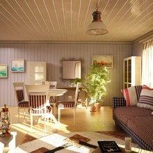Фотография: Гостиная в стиле Кантри, Современный, Дом, Дома и квартиры – фото на InMyRoom.ru