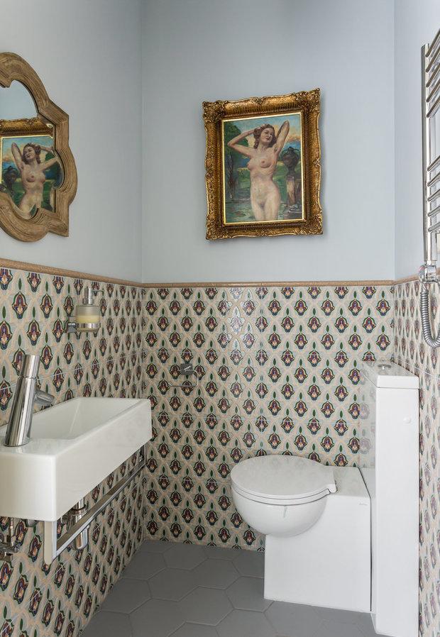 Фотография: Ванная в стиле Классический, Перепланировка, сантехника для ванной комнаты, AMPM – фото на INMYROOM