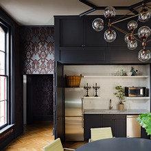 Фотография: Кухня и столовая в стиле Современный, Эклектика, Офисное пространство, Офис, Дома и квартиры, Проект недели, Готический – фото на InMyRoom.ru