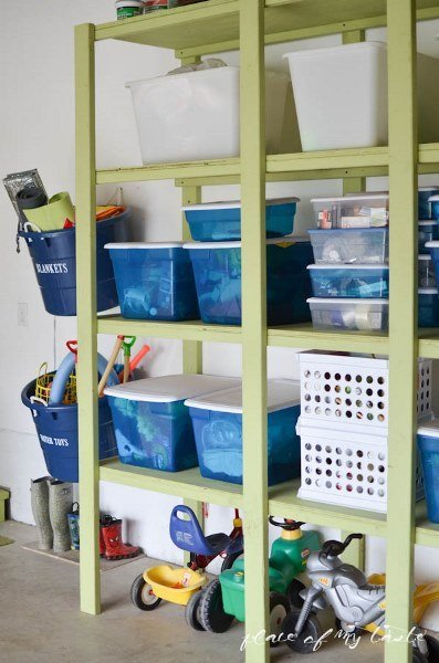 Фотография:  в стиле , Прочее, Дом и дача, как обустроить гараж, хранение в гараже, как обустроить дачный сарай, идеи для гаража – фото на InMyRoom.ru