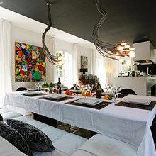 Фотография: Кухня и столовая в стиле Лофт, Современный, Дом, Франция, Дома и квартиры, Прованс – фото на InMyRoom.ru