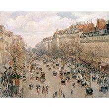Картина (репродукция, постер): Boulevard Montmartre day - Камиль Писсарро