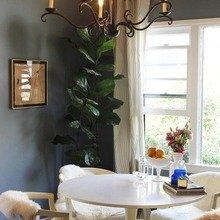 Фотография: Кухня и столовая в стиле Кантри, Дом, Дома и квартиры, Ретро, Плитка, Ар-деко, Лос-Анджелес – фото на InMyRoom.ru
