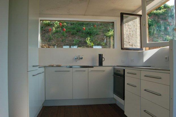 Фотография: Кухня и столовая в стиле Современный, Дом, Дома и квартиры, Городские места, Переделка – фото на InMyRoom.ru