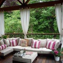Фото из портфолио Балкон и терраса – фотографии дизайна интерьеров на InMyRoom.ru