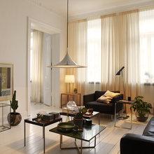 Фотография: Гостиная в стиле Современный, Малогабаритная квартира, Квартира, Швеция, Дома и квартиры – фото на InMyRoom.ru