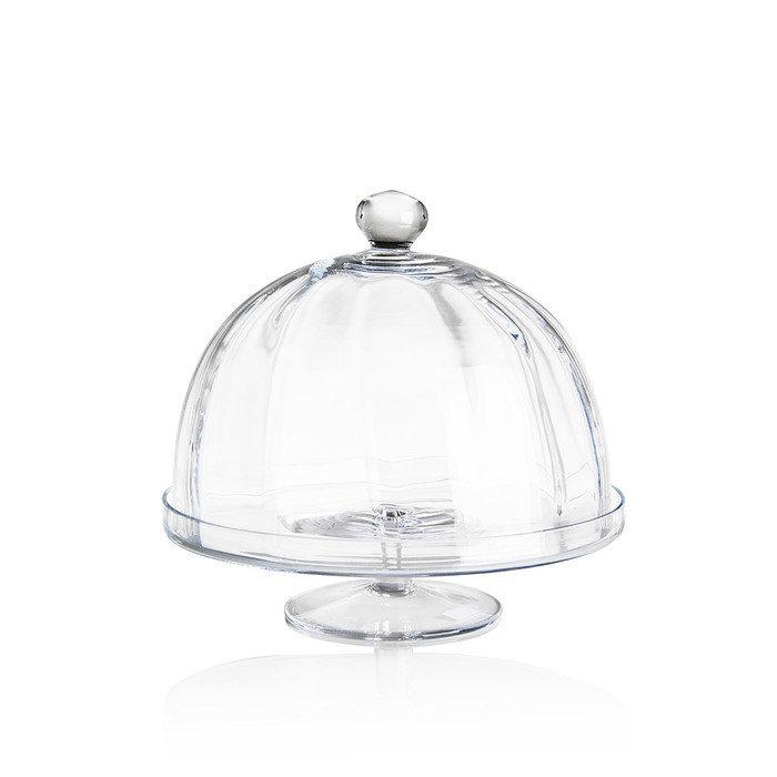 """Блюдо с куполoм Loca Nera """"Optical Dome"""""""