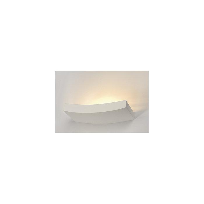 Светильник настенный SLV GL Curve белый гипс