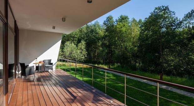 Фотография: Балкон, Терраса в стиле Современный, Дома и квартиры, Городские места, Отель, Проект недели – фото на InMyRoom.ru