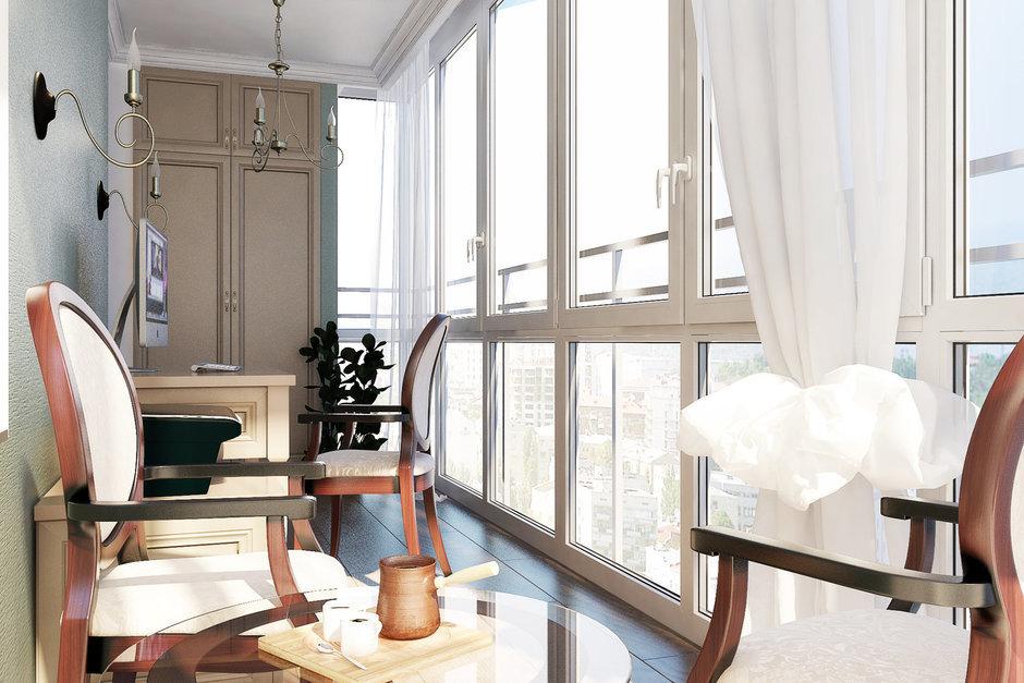 Фотография: Балкон, Терраса в стиле Прованс и Кантри, Квартира, Дома и квартиры, Проект недели – фото на InMyRoom.ru