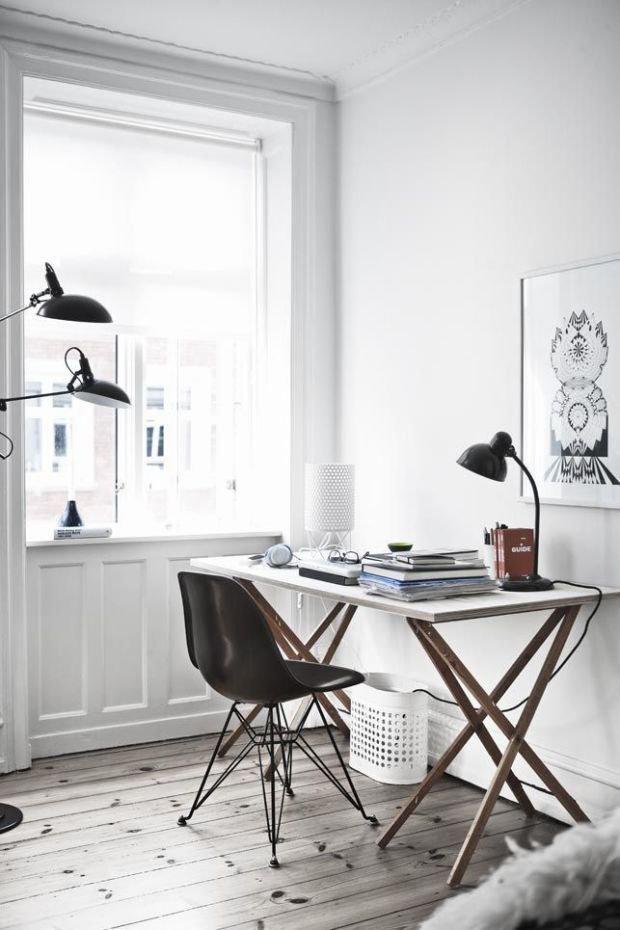 Фотография: Кабинет в стиле Скандинавский, Декор интерьера, Советы – фото на INMYROOM