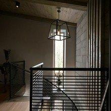 Фотография: Прихожая в стиле Лофт, Дом, Дома и квартиры, Минимализм, Большие окна – фото на InMyRoom.ru