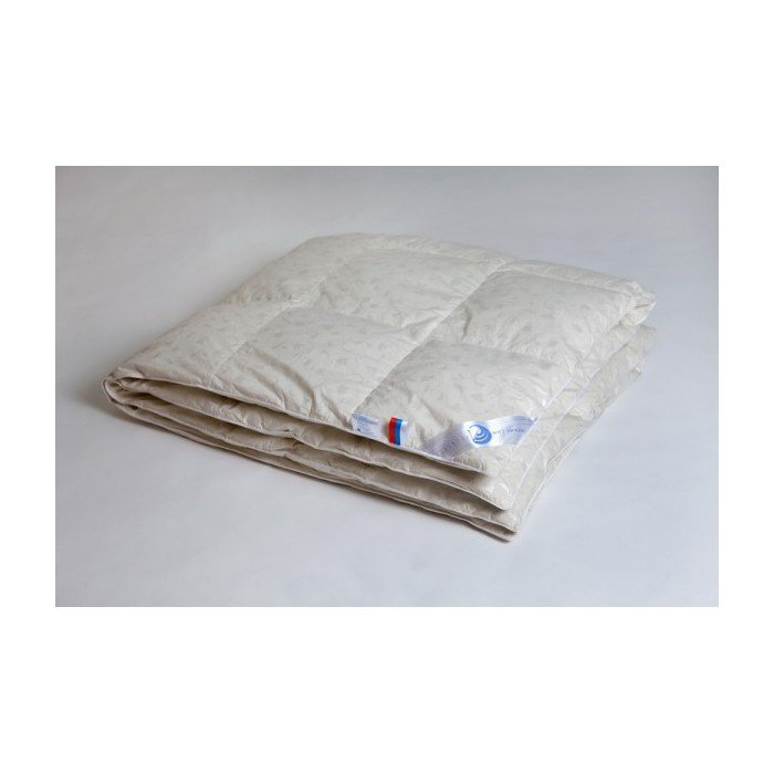 Одеяло пуховое кассетное теплое Камелия евро