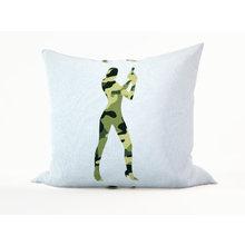 Декоративная подушка: Девушка Бонда