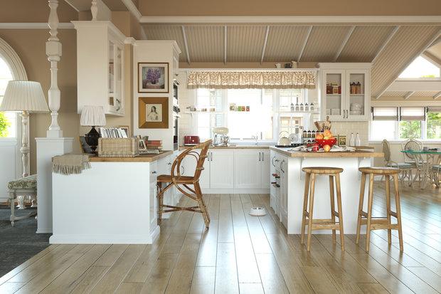 Фотография: Кухня и столовая в стиле Прованс и Кантри, Советы – фото на InMyRoom.ru