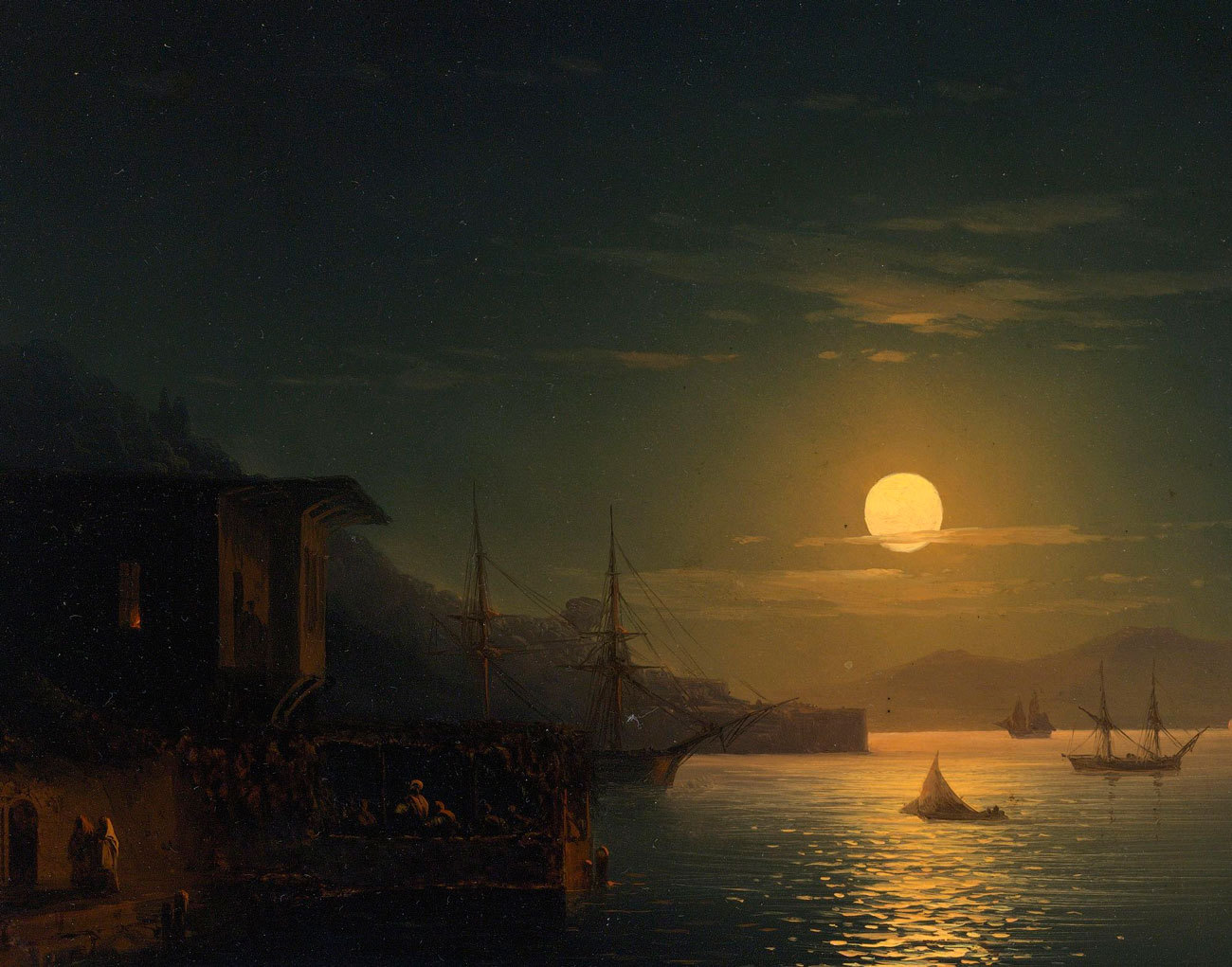 ценят свою картина айвазовского море в лунном свете картинки подъема спуска
