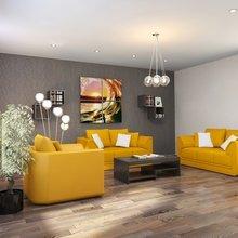 Фото из портфолио Трехкомнатная квартира 112.60 (3) – фотографии дизайна интерьеров на InMyRoom.ru
