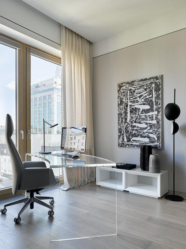 Фотография: Кабинет в стиле Современный, Гид, ДелоБанк, банк для ип, банк для предпринимателей, квартиры дизайнеров – фото на INMYROOM
