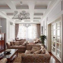 Фотография: Гостиная в стиле Кантри, Квартира, Дома и квартиры, Проект недели, Москва – фото на InMyRoom.ru