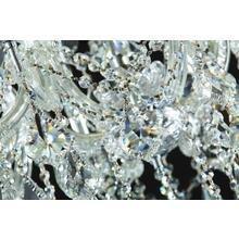 Подвесная люстра MAYTONI Inverno  с хрустальными подвесками