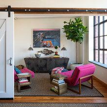 Фотография: Гостиная в стиле Кантри, Современный, Эклектика, Лофт, Декор интерьера, Квартира, Дома и квартиры, Нью-Йорк – фото на InMyRoom.ru