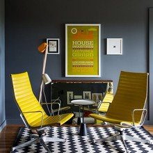 Фотография: Мебель и свет в стиле Лофт, Современный, Дом, Дома и квартиры, Нью-Йорк, Стол – фото на InMyRoom.ru