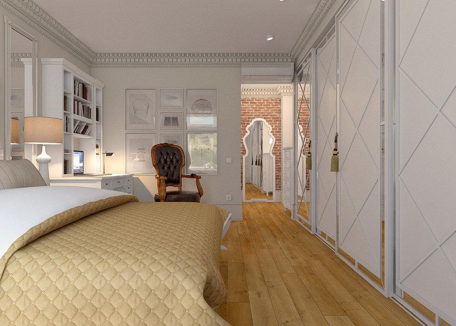 Фотография: Спальня в стиле Восточный, Лофт, Квартира, Дома и квартиры – фото на InMyRoom.ru