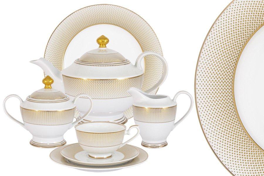 Чайный сервиз вирджиния на двенадцать персон