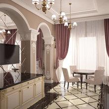 Фото из портфолио Гостиная + Кухня – фотографии дизайна интерьеров на INMYROOM