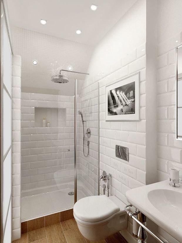 Фотография: Ванная в стиле Современный, Хай-тек, Мебель и свет, Советы, Ремонт на практике – фото на INMYROOM